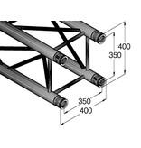 ALUTRUSS ALUTRUSS QUADLOCK GL400-3500 4-way cross beam