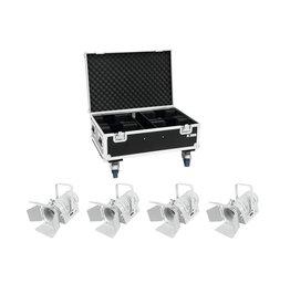 EUROLITE EUROLITE Set 4x LED THA-40PC wh + Case