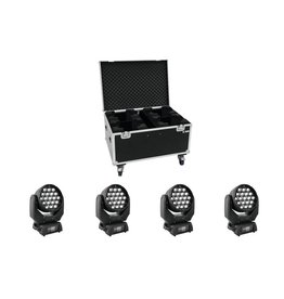 EUROLITE EUROLITE Set 4x LED TMH-X5 + Case