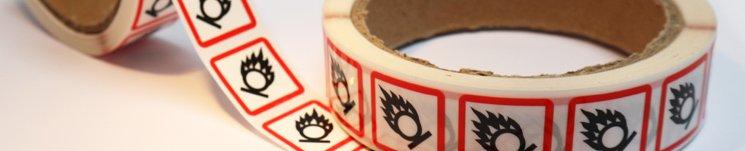 Nieuw: GHS/CLP stickers op rol!