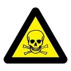 Giftige stoffen sticker