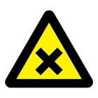 Schadelijke of irriterende stoffen sticker