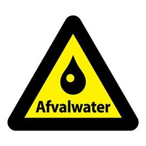 """pictogram """"Afvalwater"""" sticker"""