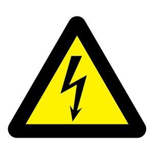 """pictogram """"Elektrische spanning"""" sticker"""