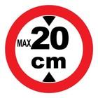 max 20 cm sticker