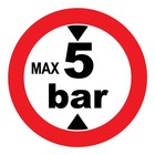 max 5 bar sticker