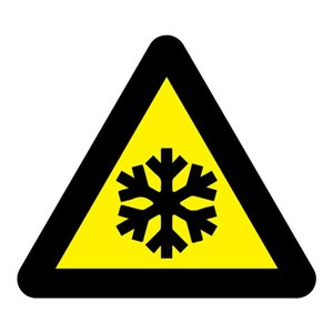 "pictogram ""lage temperaturen"" sticker"