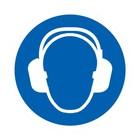 gehoorbescherming verplicht sticker