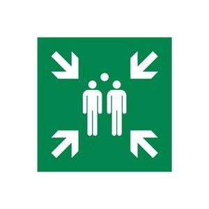 Sticker Verzamelpunt Evacuatie