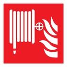 Brandhaspel sticker