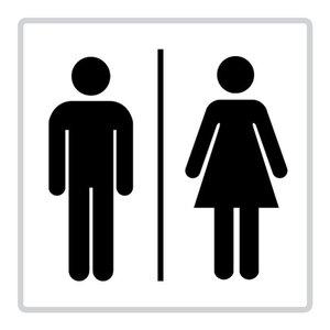"pictogram ""toilet"" sticker"