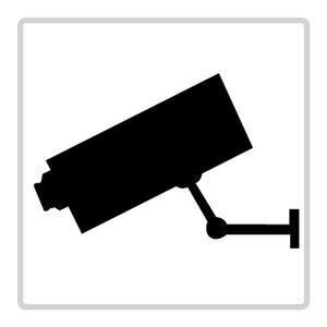 """pictogram """"camerabewaking"""" sticker"""