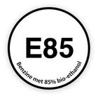 E85 sticker
