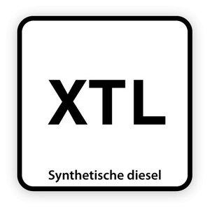 XTL brandstofsticker met uitleg (Diesel)