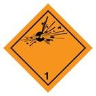 ADR-1.0 explosieven sticker