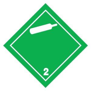 "ADR-2.2 pictogram ""niet-ontvlambaar gas"""