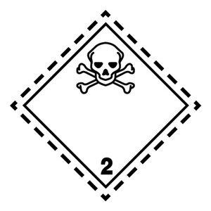 "ADR-2.3 pictogram ""giftig gas"""