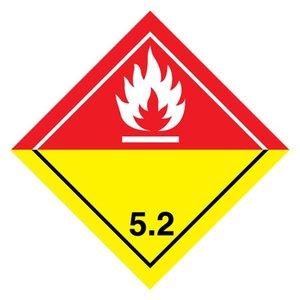 "ADR-5.2 pictogram ""organische peroxide"""
