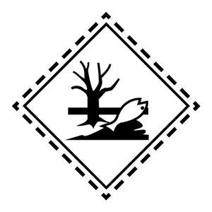 """ADR-10 pictogram """"milieugevaarlijk"""""""