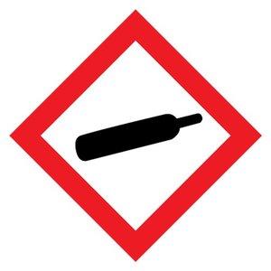 """GHS-04 pictogram """"houder onder druk"""""""
