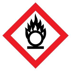 """GHS-03 pictogram """"oxyderende stoffen"""""""