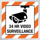 Beveiligingssticker video surveillance