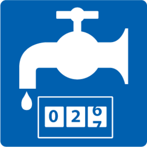 "pictogram ""Watermeter"" sticker"