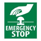Emergency Stop sticker