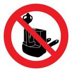 verboden voor elektrische palletwagens