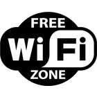 Sticker free WiFi zone