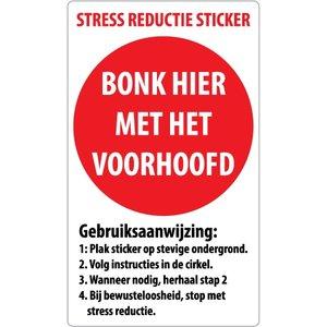 "pictogram ""stress reductie"" sticker - Copy"