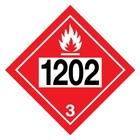 ADR-3.0 UN1202 - ontvlambare vloeistof