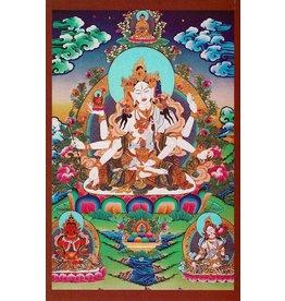 Dakini postkaart Ushnisha Vijaya