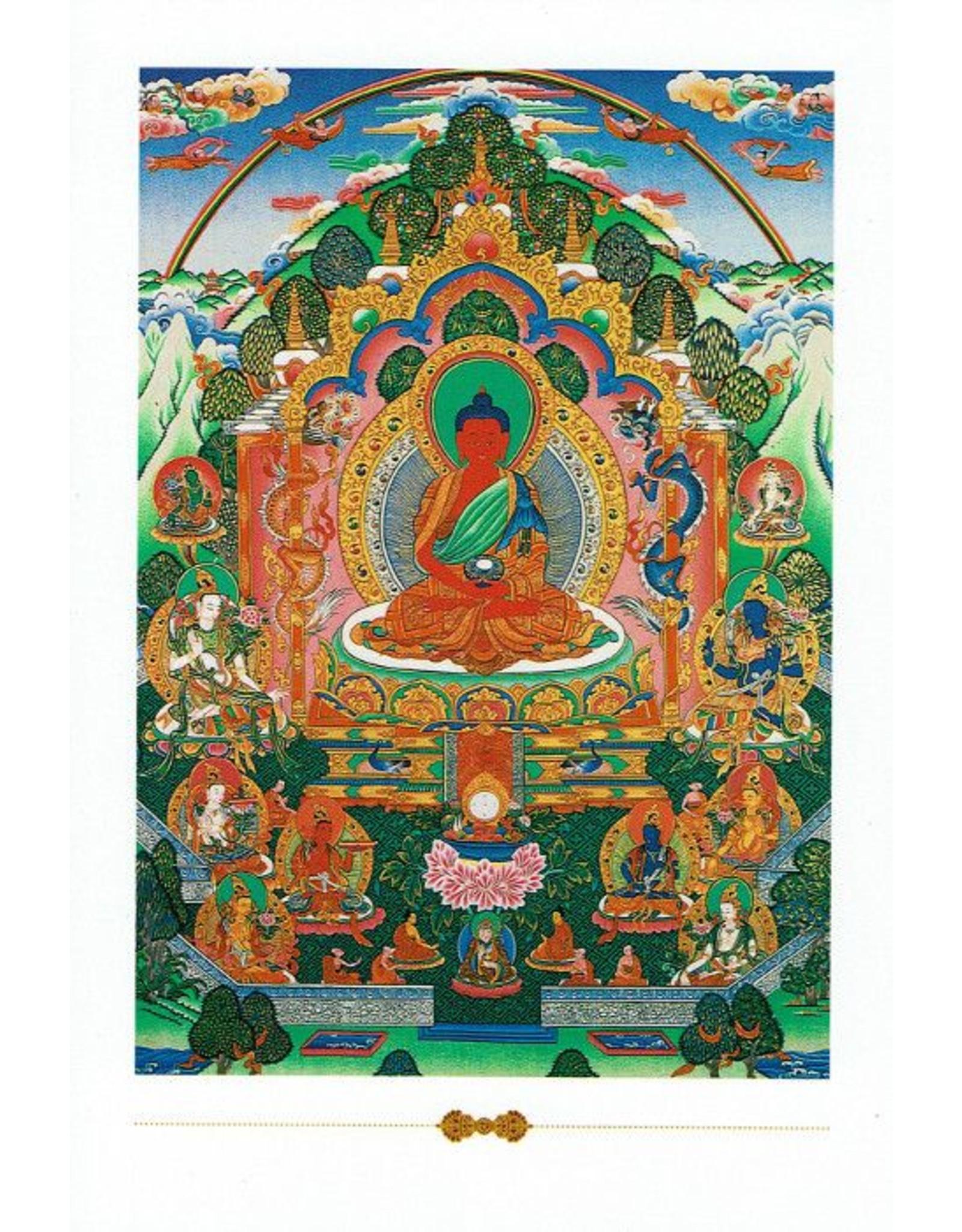 Dakini postkaart Amitabha Boeddha