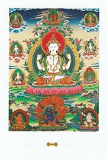 Dakini postcard Avalokiteshvara