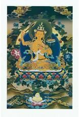 Dakini postkaart Manjushri