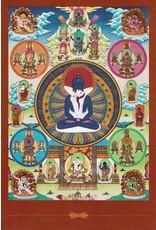 Dakini postkaart Samantabhadra & Samantabhadri