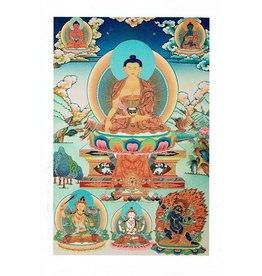 Dakini postkaart Shakyamuni Boeddha