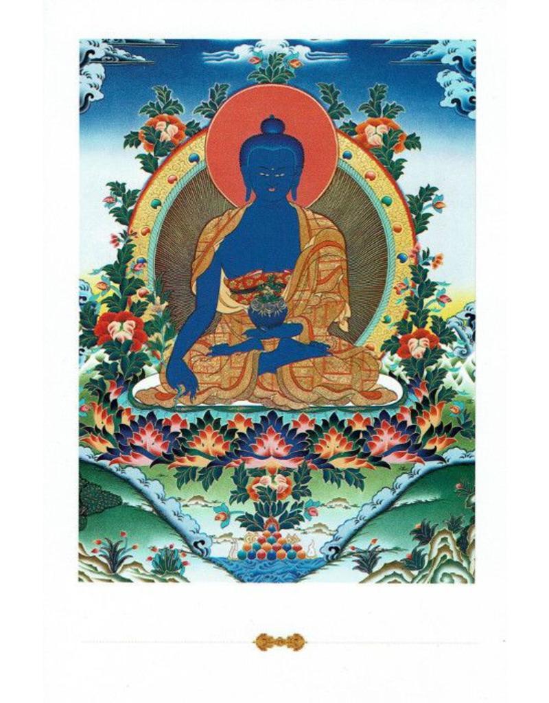 Dakini postcard Medicine Buddha