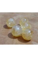 Interchangeable gemstone Citrine 12 mm