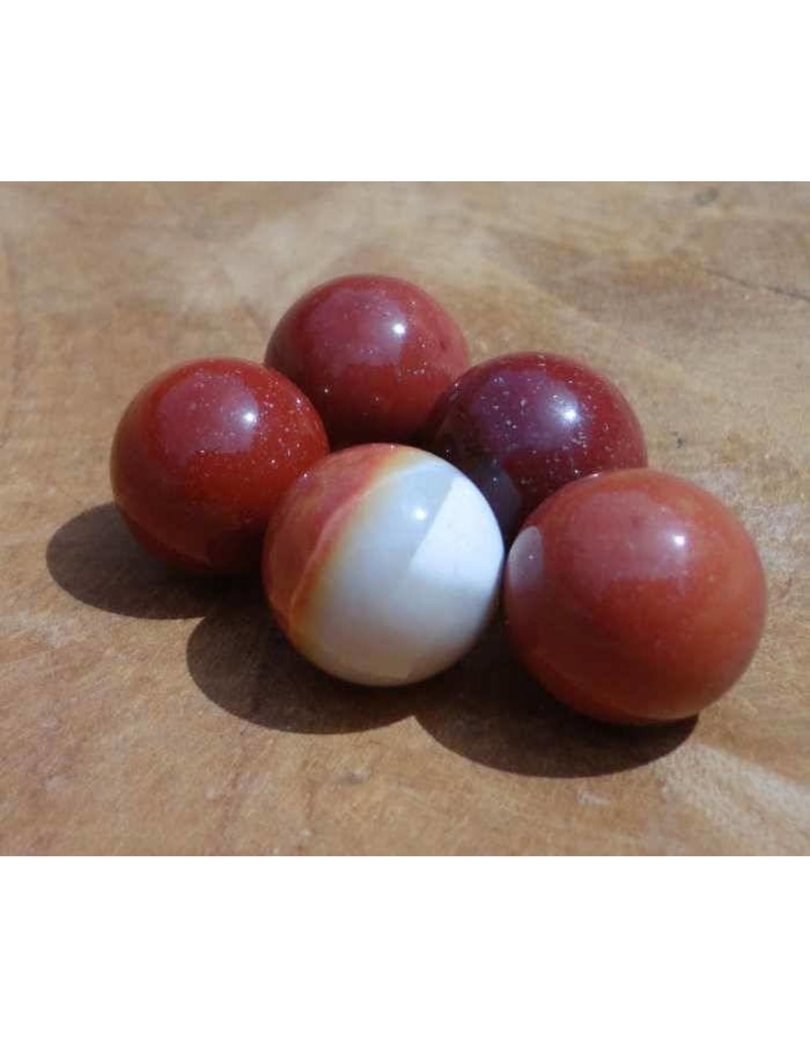 Interchangeable gemstone Mookaite 12 mm