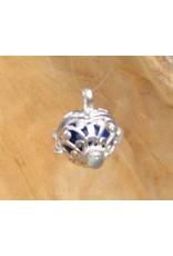 Gemstone holder pendant Heart 12 mm