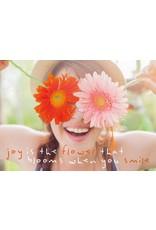 ZintenZ postkaart Joy is the flower