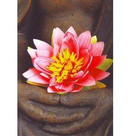 ZintenZ postkaart Buddha lotus
