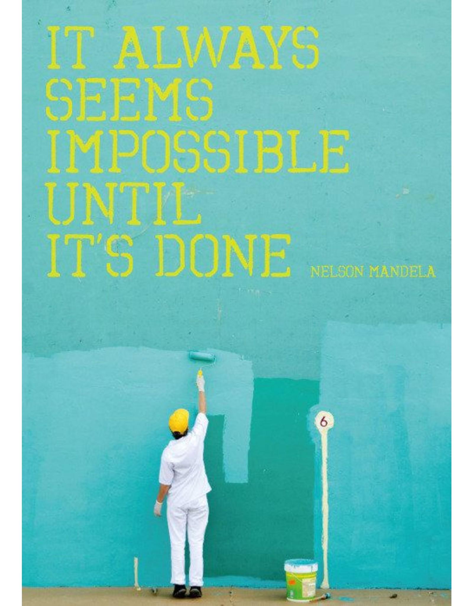 ZintenZ postcard It always seems impossible