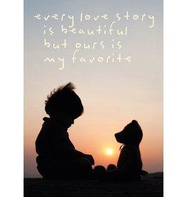 ZintenZ postkaart Every love story