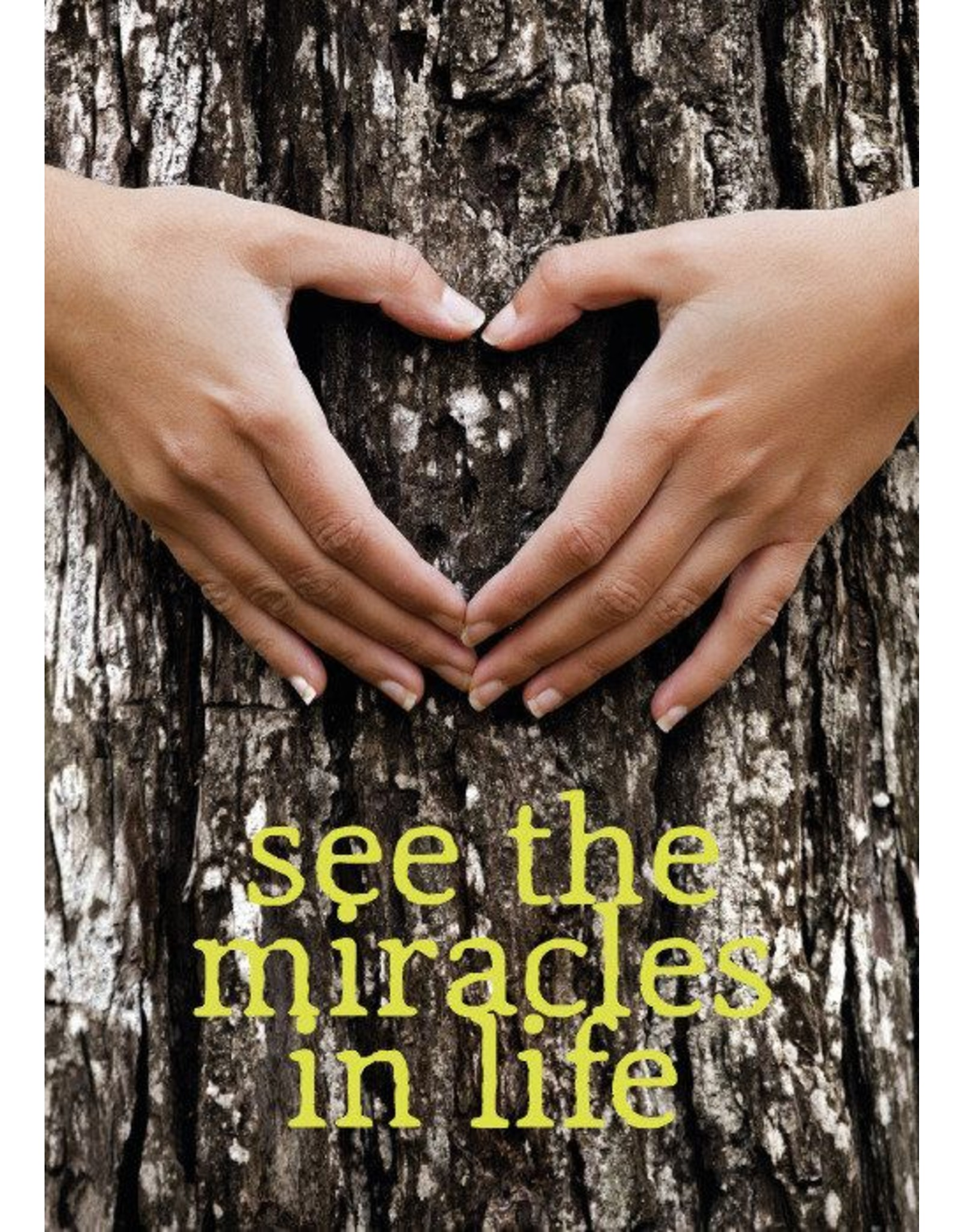 ZintenZ postkaart See the miracles in life
