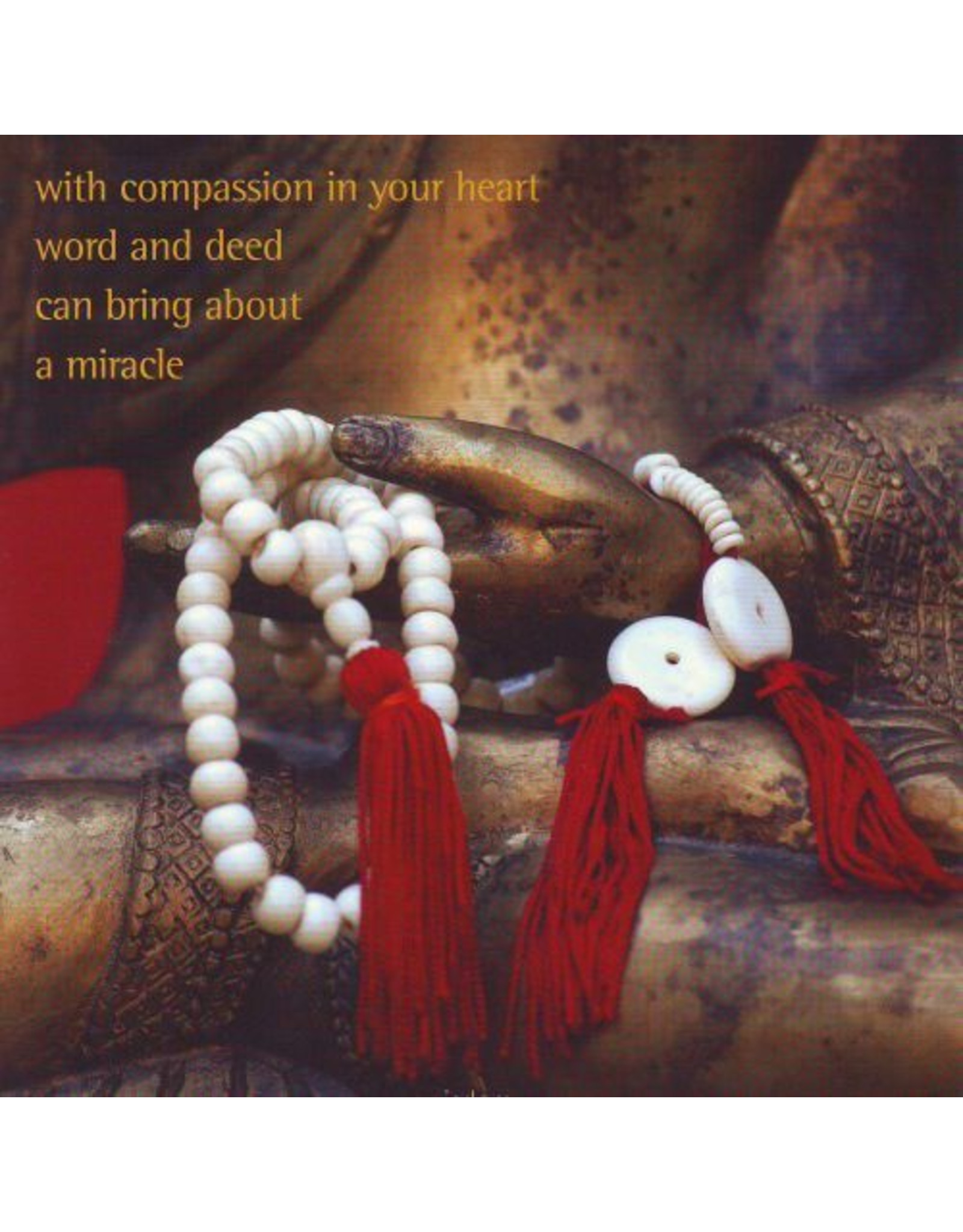 ZintenZ postkaart With compassion in your heart