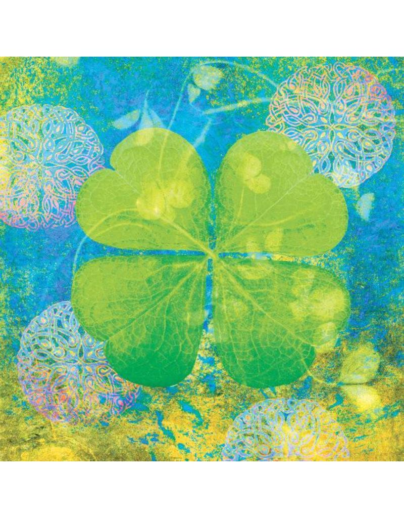 ZintenZ postcard Four-leaf clover
