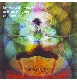 ZintenZ postcard Happiness is a matter of balance
